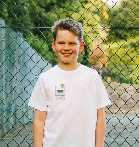 Freshwater Skate Park Tee Shirt in white