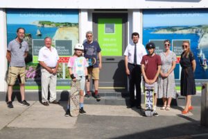 Group picture outside Hose Rhodes Dickson new premises